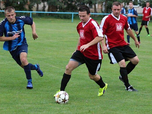 Z utkání Tuchoraz - Radim (4:1).