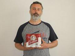 Třetí kolo vyhrála Jaroslava Horáčková. Cenu v podobě kartonu piva za ní převzal přítel Jaroslav Němec.