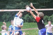 Z utkání VK Kolín - Lysá nad Labem (3:0).