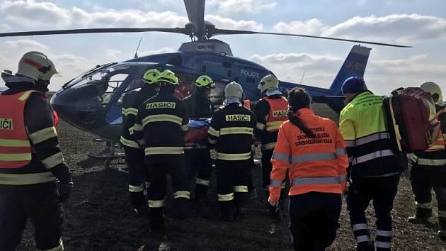 Dopravní nehoda u Vrbčan.