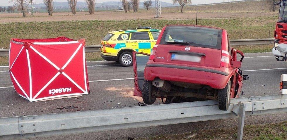 Tragická dopravní nehoda na obchvatu Kolína ve čtvrtek 19. března 2020.