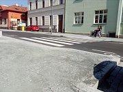 Pražská ulice v Kolíně ve středu 19. června 2019.