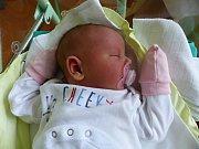 Klaudie Čermáková se narodila 1.12.2018 s mírami 3080 g a 52 cm. V Kutné Hoře – Kaňk ji přivítá sestřička Sofie (3), maminka Markéta a tatínek Jan.