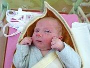 Hugo Řádek se narodil 1.12.2018, vážil 3840 g a měřil 50 cm. Ve vesničce Přišimasy bude bydlet s bráškou Toníkem (16 měsíců) a rodiči Zdenkou a Michalem.