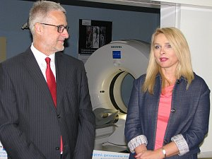 Oblastní nemocnice Kolín slavnostně uvedla do provozu nový CT přístroj