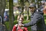 Program připravili rybáři pro žáky pečecké školy.