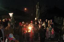 Zahájení adventu v Pečkách