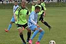 Z utkání Kouřim - Jevany (1:0).