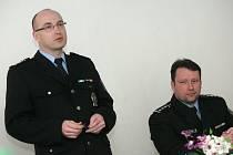 Tisková konference o kriminalitě na Kolínsku.