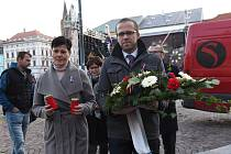 Ze setkání u příležitosti 30. výročí sametové revoluce v Kolíně.