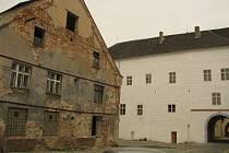 Areál kolínského zámku.