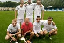 Titul. Tým Real Kolín může slavit vítězství v Borky lize