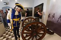 Slavnostní otevření nové expozice ve Veigertovském domě o bitvě u Kolína