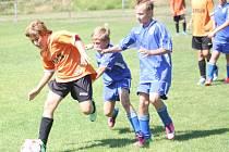 Z utkání FK Kolín U13 - Čáslav (9:4).