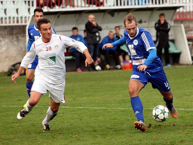 Z utkání Kutná Hora - FK Kolín (1:1, PK 3:2).