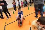 Sportovní dětské klání proběhlo za přítomnosti Kateřiny Šafránkové