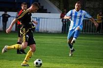Z utkání Český Brod - Litvínov (2:2).