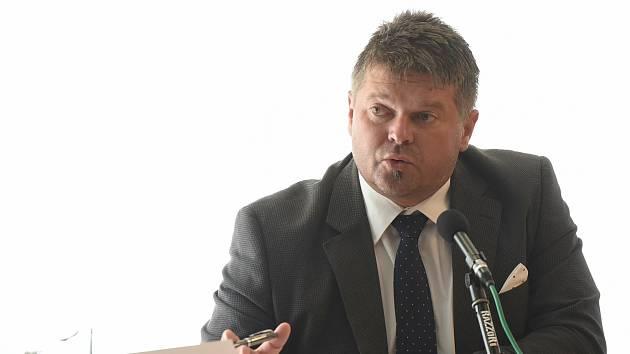 Šéf klubu opozičního ANO a krajský zastupitel Martin Herman.