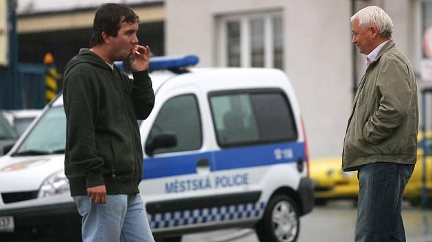 Nehoda v Polepské ulici v Kolíně. 15. září
