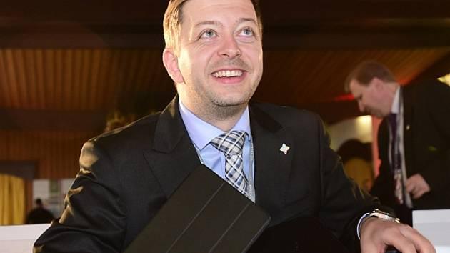 Lídr hnutí Starostové a nezávislí (STAN) pro Středočeský kraj Vít Rakušan.