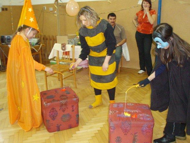 Karneval v Základní škole Nová Ves I