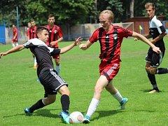 Z utkání dorostu FK Kolín U17 - Žižkov (2:5).