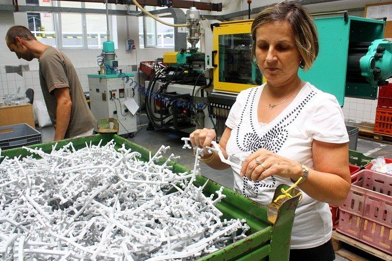 Recyklovatelný odpad při výrobě lisovaných výrobků