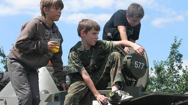 Dětský den ve Velkém Oseku