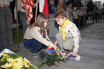 Vzpomínková akce při příležitosti výročí vzniku republiky