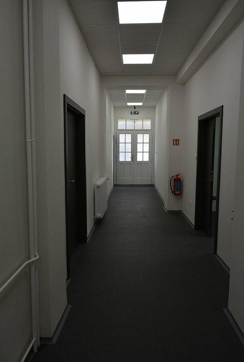 Zrekonstruovaná část pavilonu B v areálu českobrodské nemocnice.