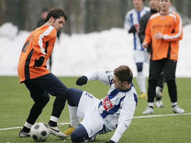 Z přípravného utkání FK Kolín - Čáslav B (1:2).
