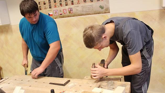 Den otevřených dveří na Střední odborné škole a Středním odborném učilišti stavebním v Kolíně.