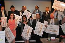 Slavnostní vyhlášení výsledků grantového programu TPCA pro Kolínsko
