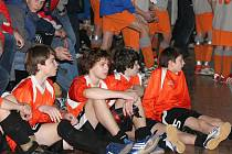 Z halového turnaje AFK Kolín pro starší žáky konaného v sobotu 31. ledna 2009.