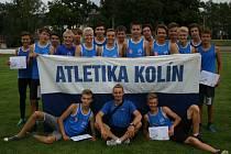 Starší žáci Kolína se stali přeborníky Středočeského kraje.