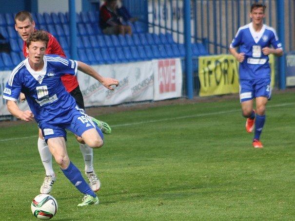 Z utkání FK Kolín - Táborsko B (3:2).