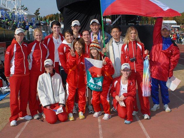 Z návštěvy ženského družstva TPCA v Japonsku, kde se tým zúčastnil finále štafetového běhu Ekiden.