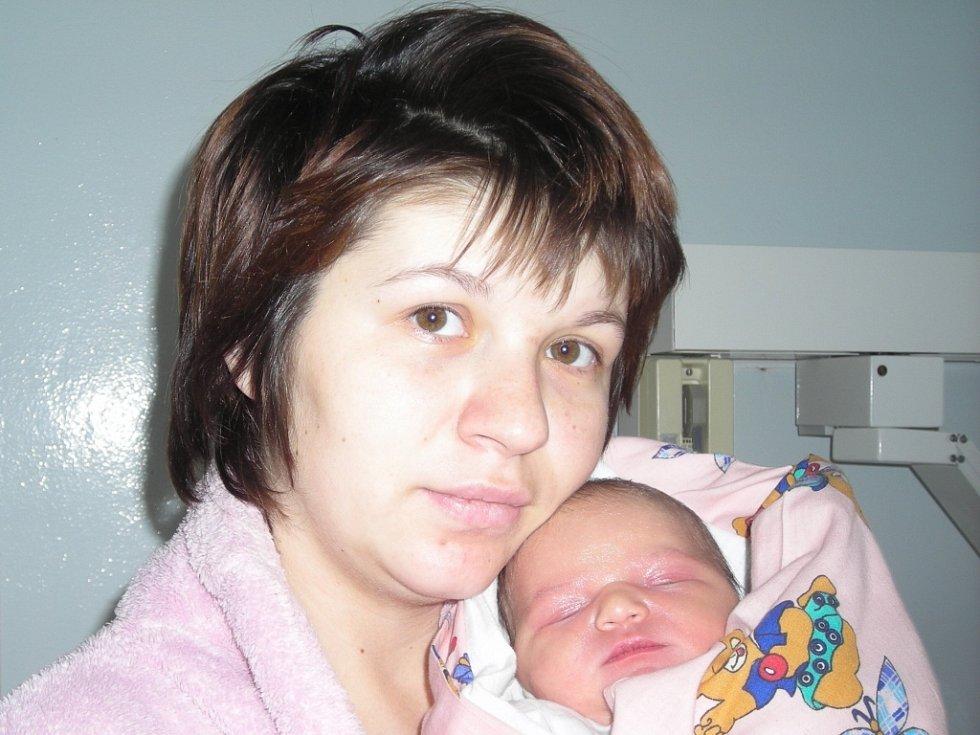 Nina Navrátilová se narodila 10. listopadu v Kolíně. Vážila 3700 gramů a měřila 51 centimetrů. Doma v Plaňanech ji přivítá maminka Nina a tatínek Ladislav.