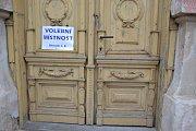 Volební okrsek č. 4, Pečky, Kolínsko.