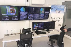 Řídící centrum systému smart city - ilustrační foto.