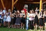 Slavnostní loučení s žáky devátých tříd 7. základní školy.