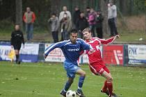 Z utkání FK Kolín - Dvůr Králové (2:0).