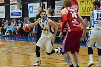 Z utkání BC Geosan Kolín - Svitavy (88:75).