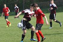 Z utkání FK Kolín U17 - Chrudim (0:1).