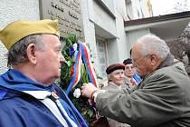 U pamětní desky Borise Volka se vzpomínalo na oběti komunistického režimu