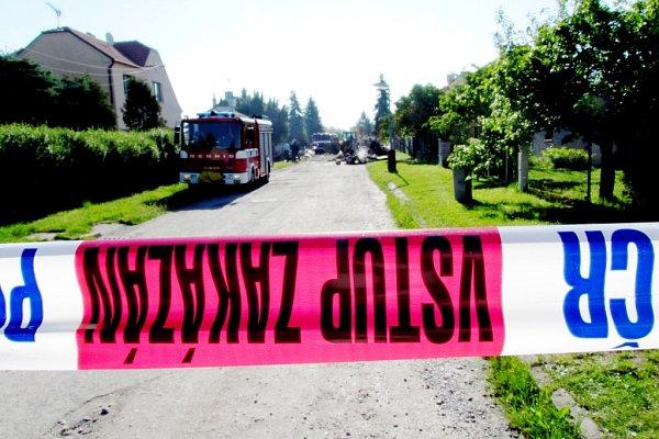 Výbuch domu vCerhenicích
