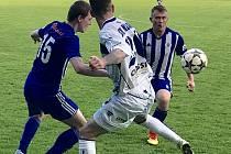 Z utkání divize Český Brod - Kladno (2:0).