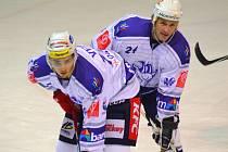Na vhazvání je připravený Jan Veselý (vlevo) a Tomáš Pácal.