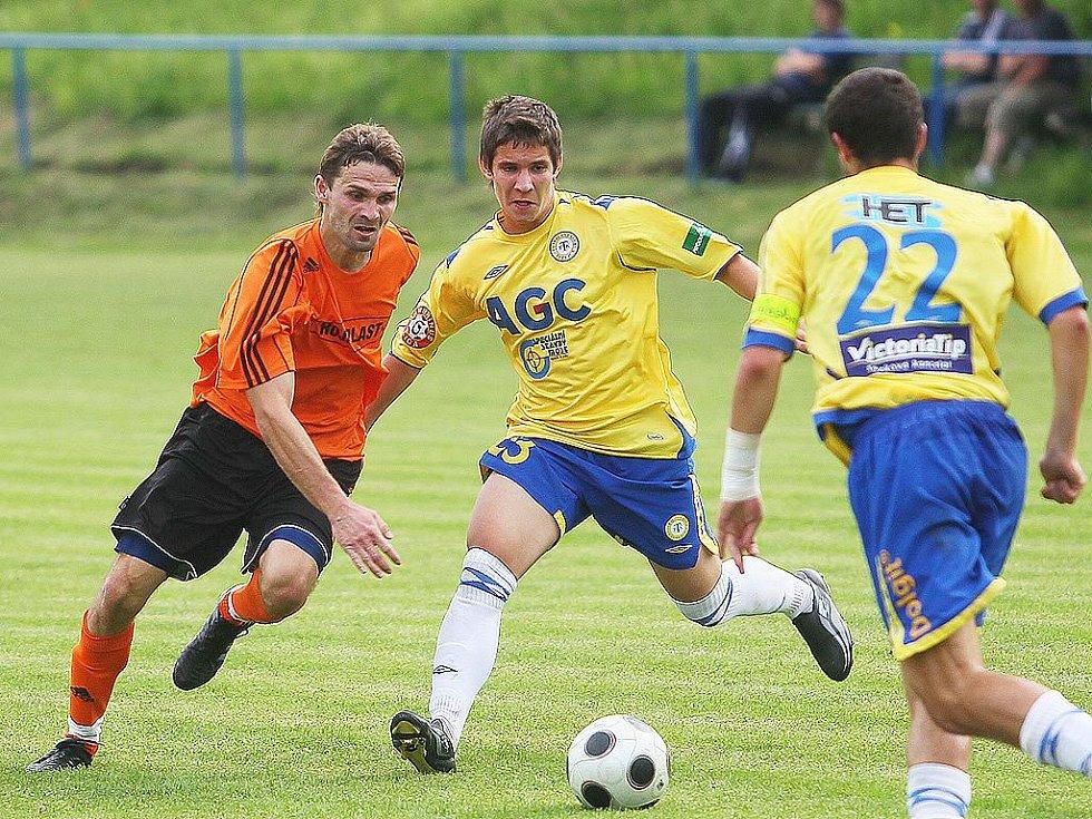 Z utkání Polepy - Teplice B (4:1).