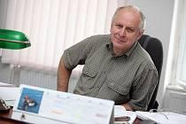 Předseda Okresního fotbalového svazu Ivo Pařík.
